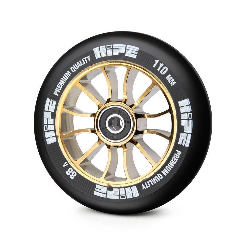 Купить Колесо для трюкового самоката Hipe H01 wheels 110mm Glod/black